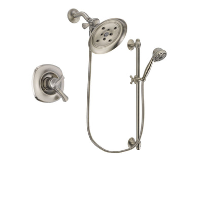 Delta Addison Stainless Steel Finish Shower Faucet System w/Hand Shower DSP1746V