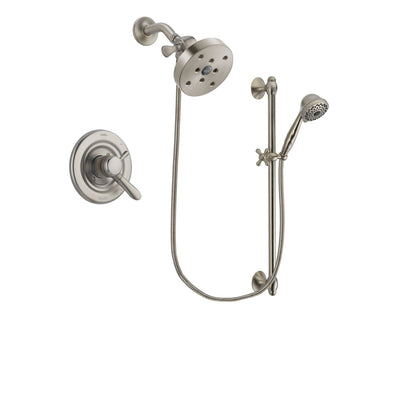 Delta Lahara Stainless Steel Finish Shower Faucet System w/ Hand Spray DSP1772V
