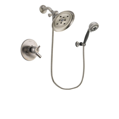 Delta Trinsic Stainless Steel Finish Shower Faucet System w/Hand Shower DSP2012V