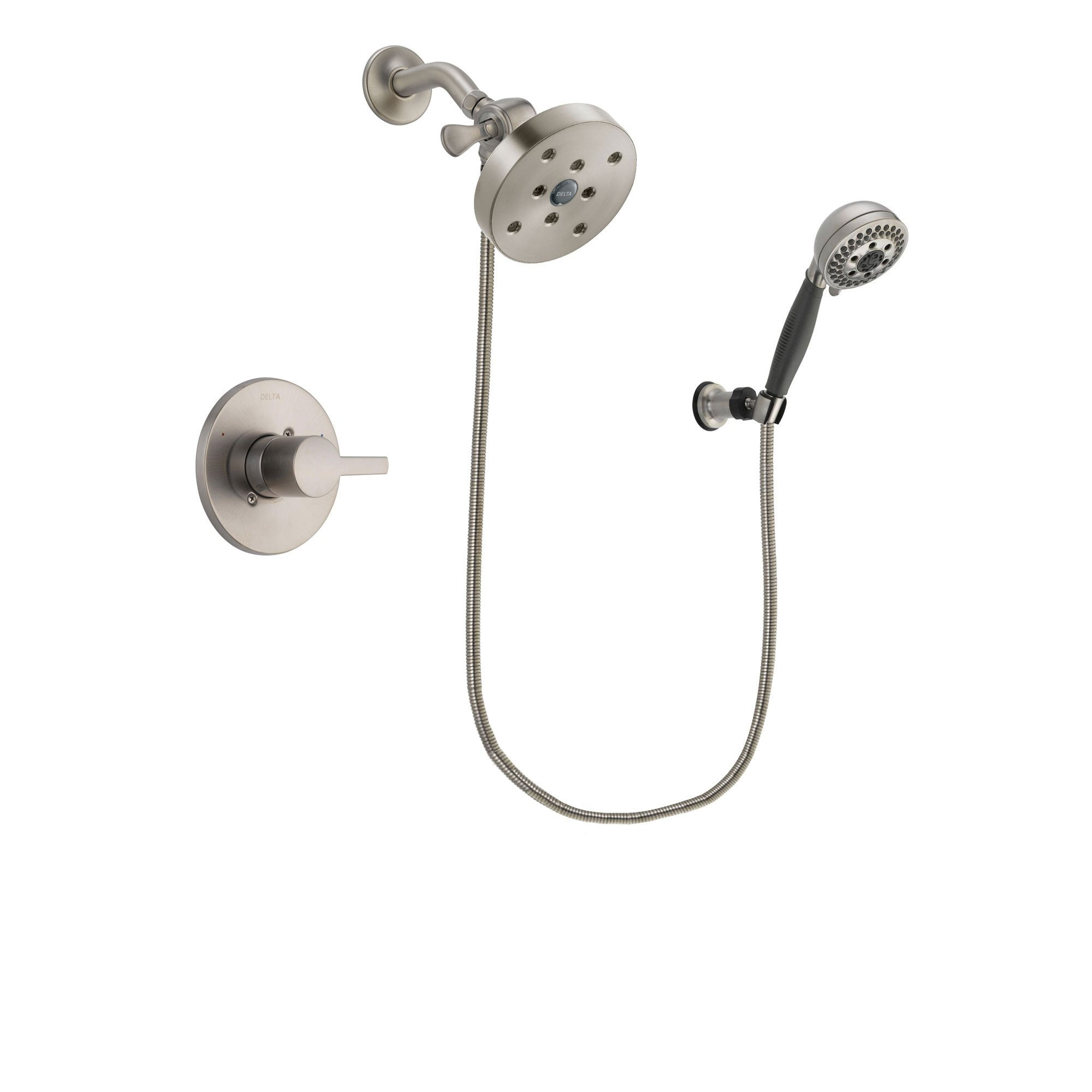 Delta Compel Stainless Steel Finish Shower Faucet System w/ Hand Spray DSP2038V