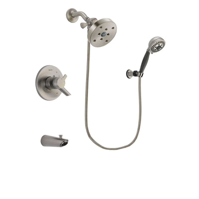 Delta Compel Stainless Steel Finish Tub and Shower System w/Hand Shower DSP2047V