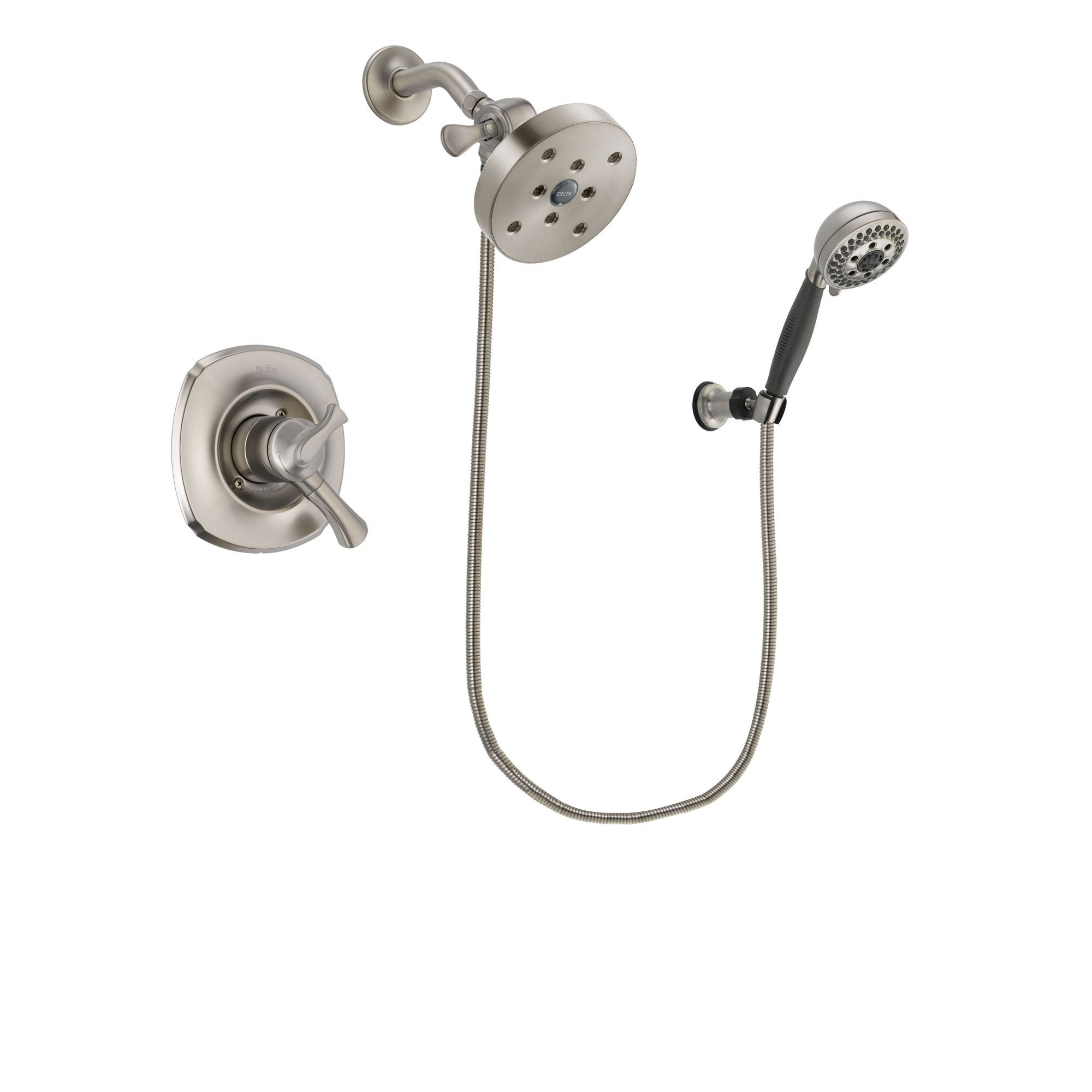 Delta Addison Stainless Steel Finish Shower Faucet System w/Hand Shower DSP2052V