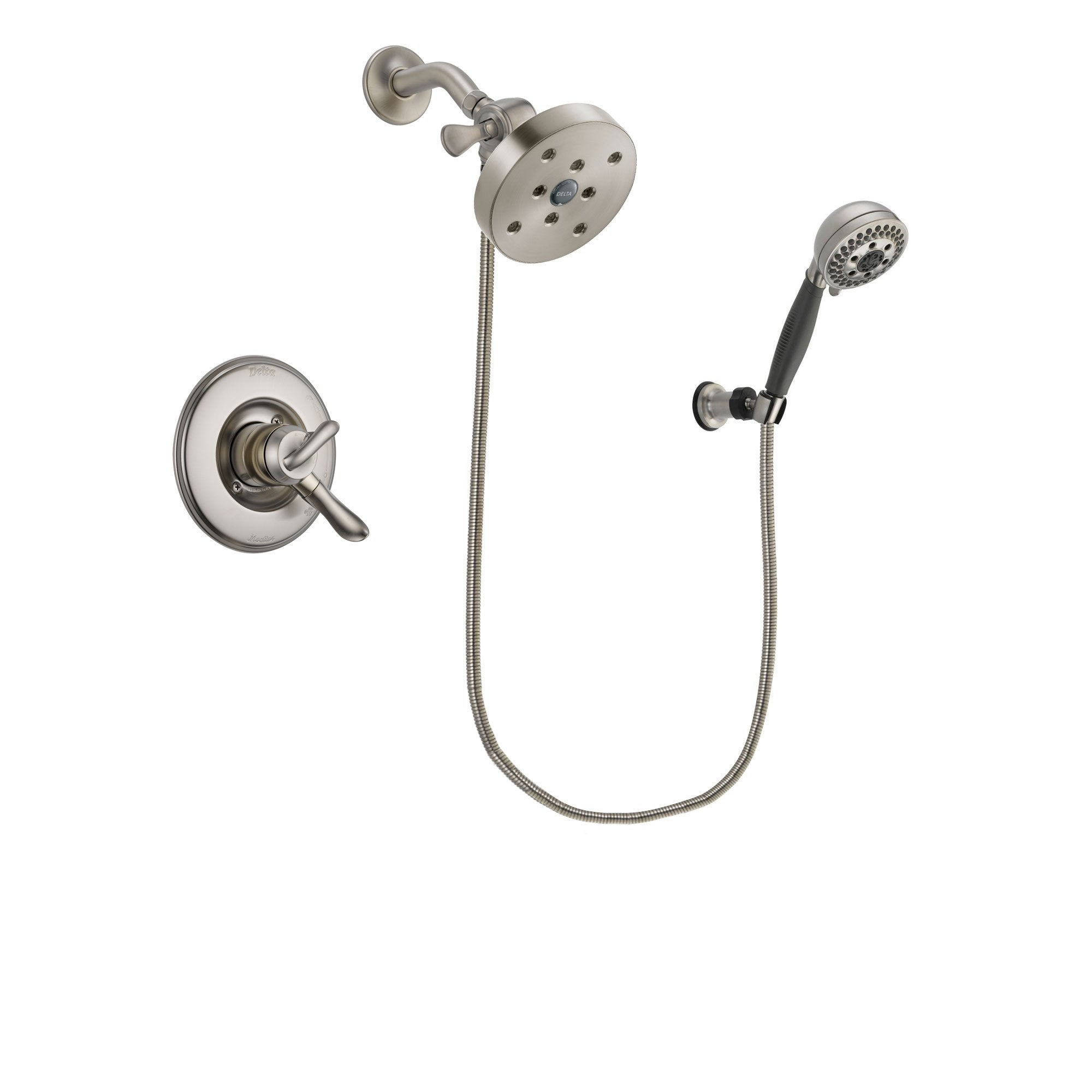 Delta Linden Stainless Steel Finish Shower Faucet System w/ Hand Spray DSP2054V