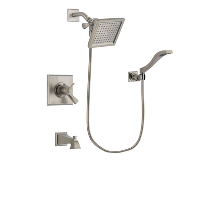 Delta Dryden Stainless Steel Finish Tub and Shower System w/Hand Shower DSP2075V