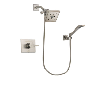 Delta Vero Stainless Steel Finish Shower Faucet System with Hand Shower DSP2102V