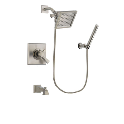 Delta Dryden Stainless Steel Finish Tub and Shower System w/Hand Shower DSP2141V