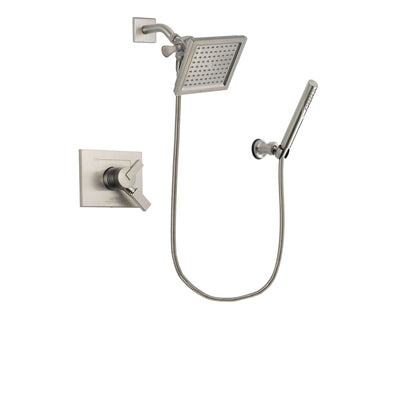 Delta Vero Stainless Steel Finish Shower Faucet System with Hand Shower DSP2144V