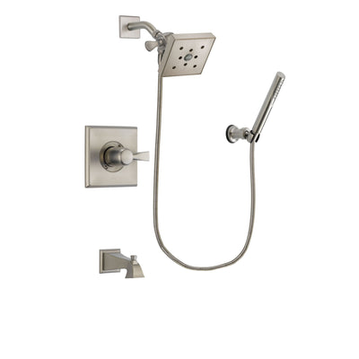 Delta Dryden Stainless Steel Finish Tub and Shower System w/Hand Shower DSP2153V