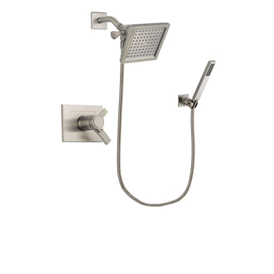 Delta Vero Stainless Steel Finish Shower Faucet System with Hand Shower DSP2186V