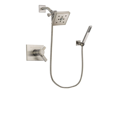 Delta Vero Stainless Steel Finish Shower Faucet System with Hand Shower DSP2204V