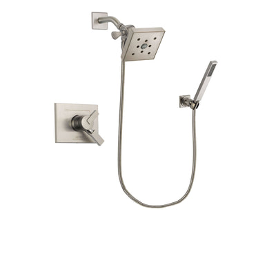 Delta Vero Stainless Steel Finish Shower Faucet System with Hand Shower DSP2216V
