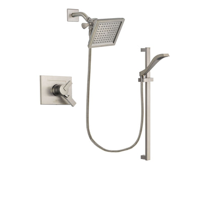 Delta Vero Stainless Steel Finish Shower Faucet System with Hand Shower DSP2252V