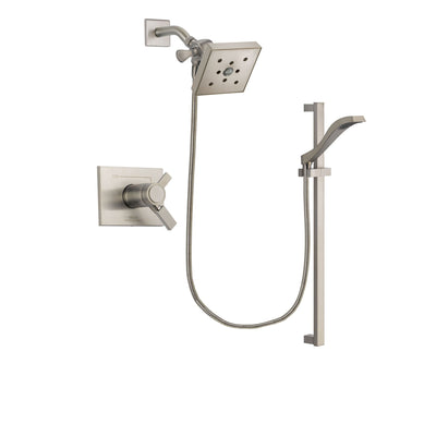Delta Vero Stainless Steel Finish Shower Faucet System with Hand Shower DSP2258V