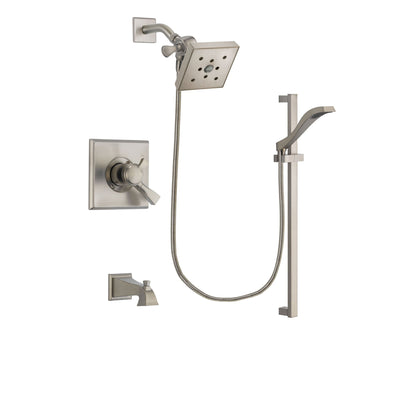 Delta Dryden Stainless Steel Finish Tub and Shower System w/Hand Shower DSP2267V
