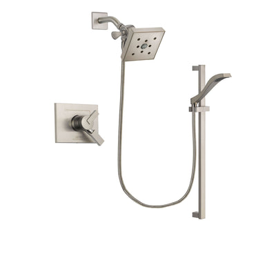 Delta Vero Stainless Steel Finish Shower Faucet System with Hand Shower DSP2270V