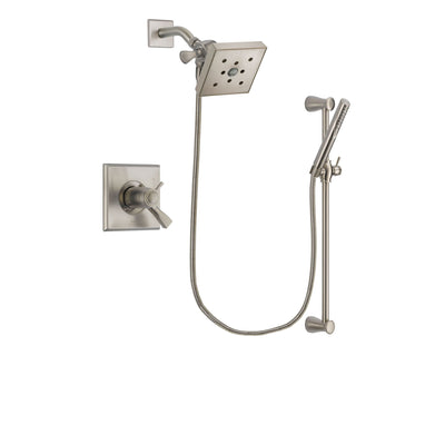 Delta Dryden Stainless Steel Finish Shower Faucet System w/ Hand Spray DSP2310V