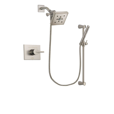 Delta Vero Stainless Steel Finish Shower Faucet System with Hand Shower DSP2318V