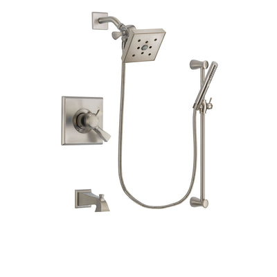 Delta Dryden Stainless Steel Finish Tub and Shower System w/Hand Shower DSP2321V