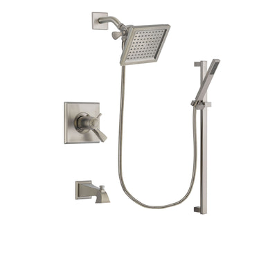 Delta Dryden Stainless Steel Finish Tub and Shower System w/Hand Shower DSP2345V