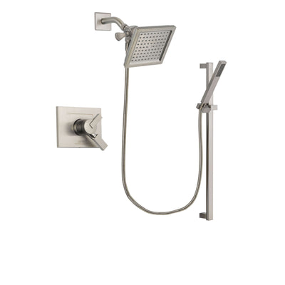 Delta Vero Stainless Steel Finish Shower Faucet System with Hand Shower DSP2360V