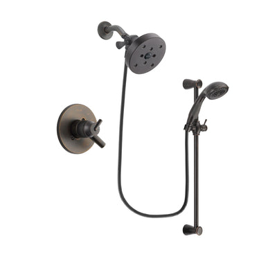 Delta Trinsic Venetian Bronze Shower Faucet System with Hand Shower DSP2732V