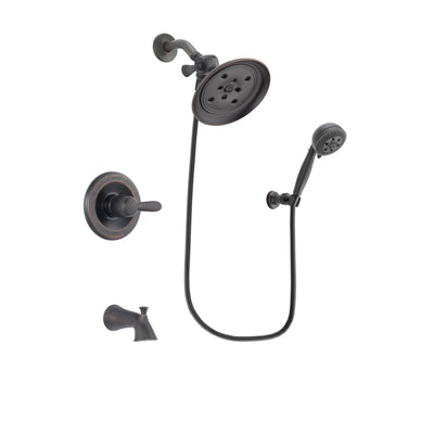 Delta Lahara Venetian Bronze Tub and Shower Faucet System w/Hand Shower DSP2811V