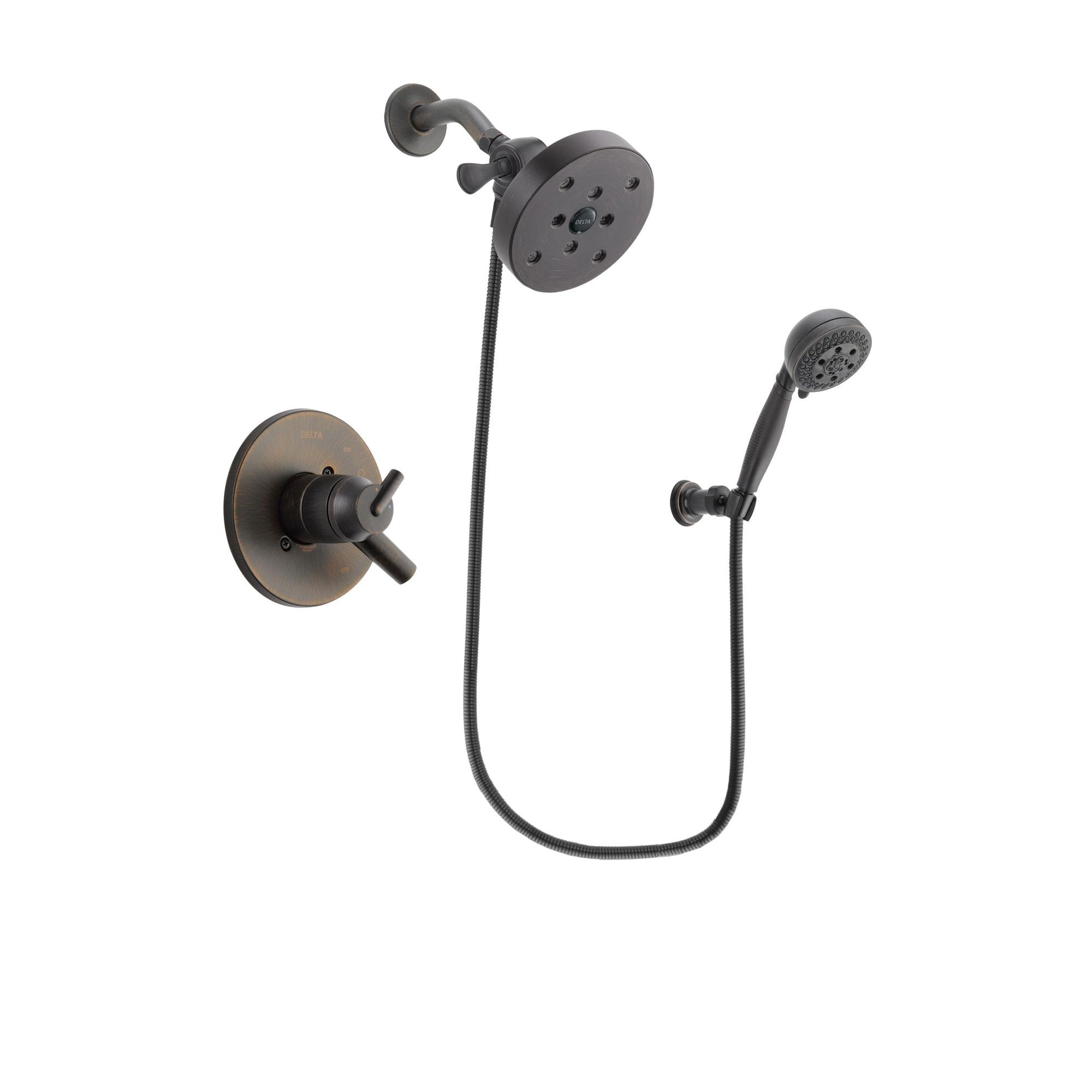 Delta Trinsic Venetian Bronze Shower Faucet System with Hand Shower DSP2852V