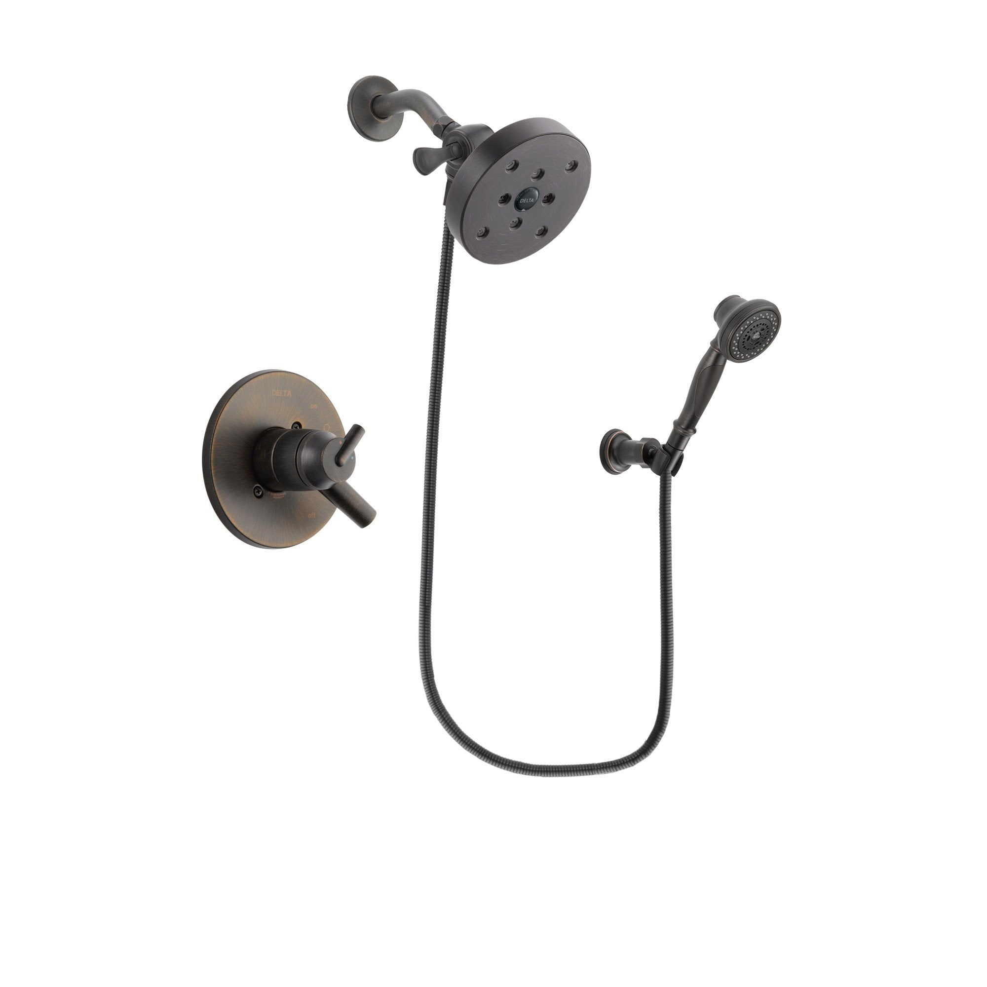 Delta Trinsic Venetian Bronze Shower Faucet System with Hand Shower DSP3092V