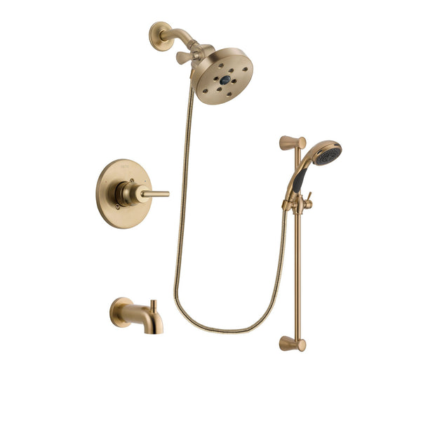 Delta Trinsic Champagne Bronze Finish Tub And Shower