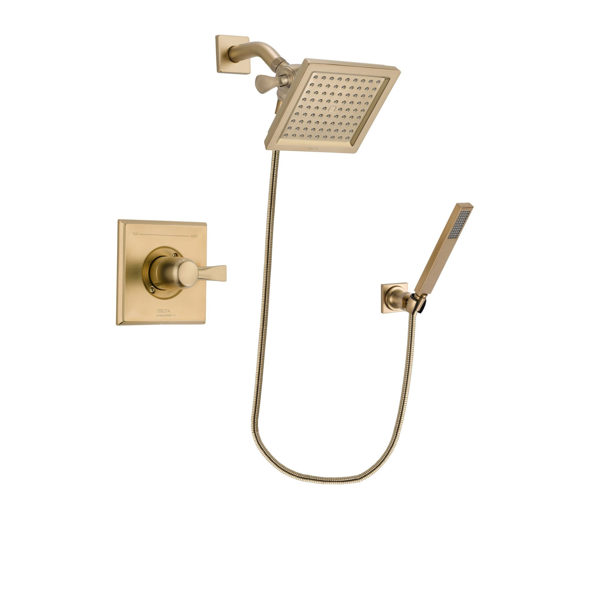 Delta Dryden Champagne Bronze Shower Faucet System with Hand Shower DSP3890V