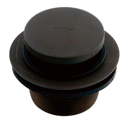 Kingston Brass Oil Rubbed Bronze Push Down Touch Toe Bathtub Drain DTT205