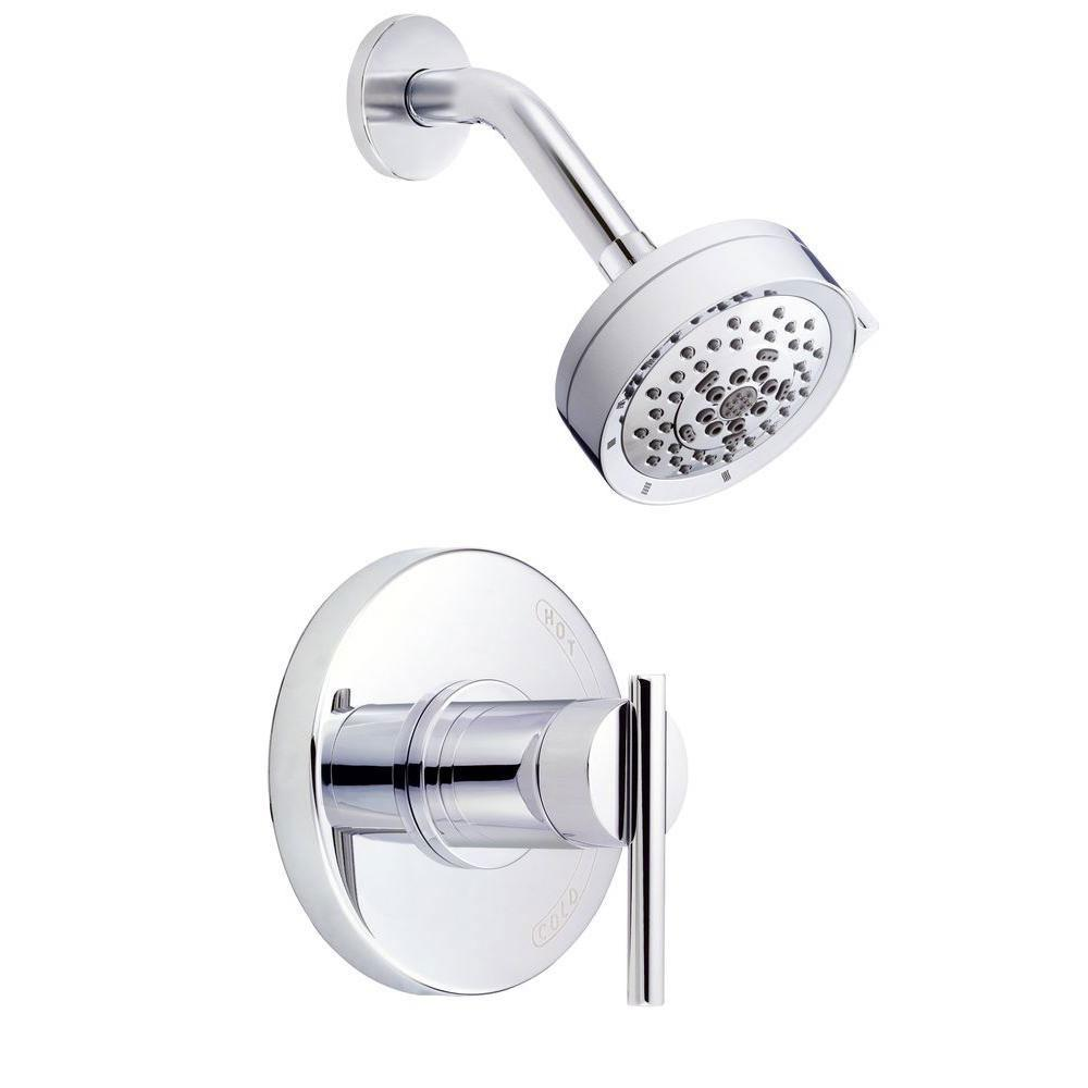 Danze Parma 1-Handle Pressure Balance Shower Faucet Trim Kit in Chrome (Valve Not Included) 634474