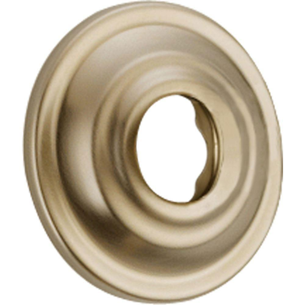 Delta Cassidy Shower Arm Flange in Champagne Bronze 582244