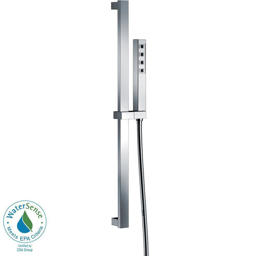 Delta Ara 1-Spray Hand Shower in Chrome Featuring H2Okinetic 660968