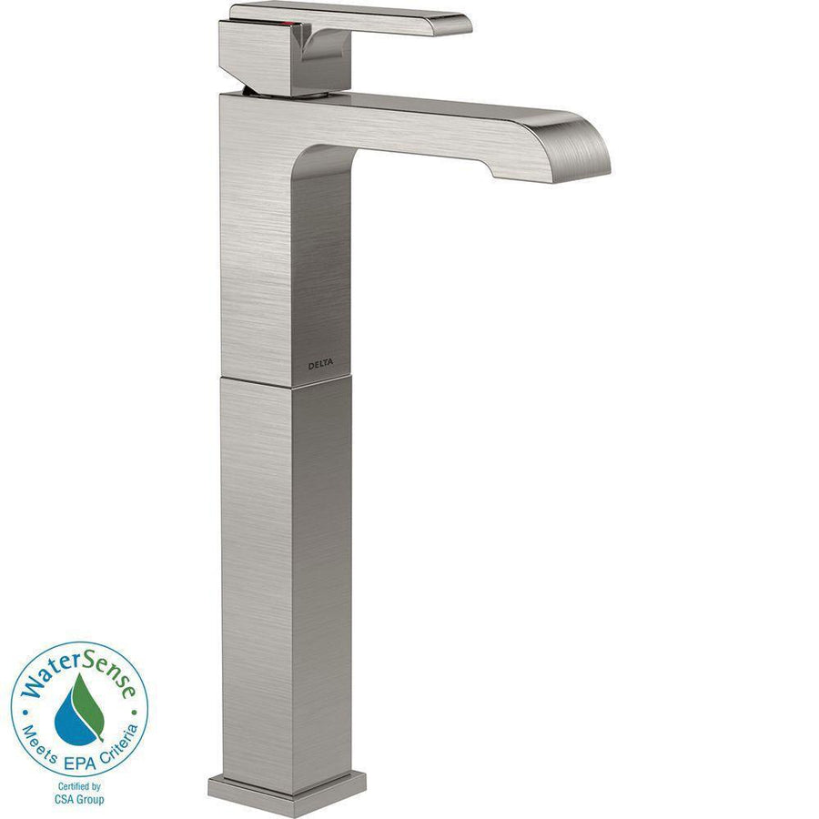 Vessel Sink Faucets Get a Tall Bathroom Lavatory Sink Faucet