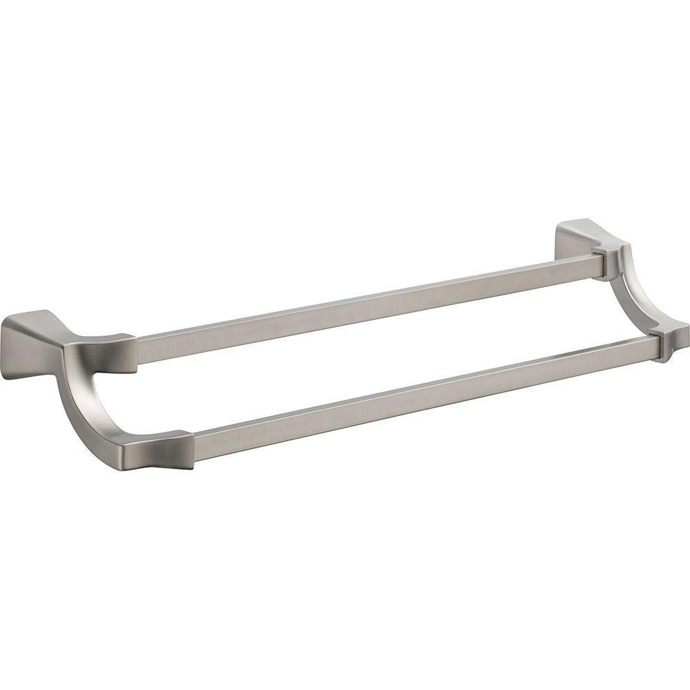 Double Towel Bars Get A Double Towel Bar Rack For Your
