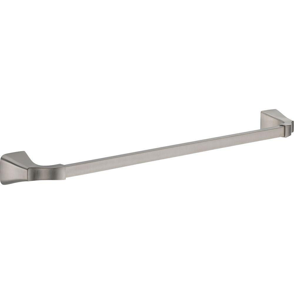Delta Tesla 24 inch Single Towel Bar in Stainless 718266