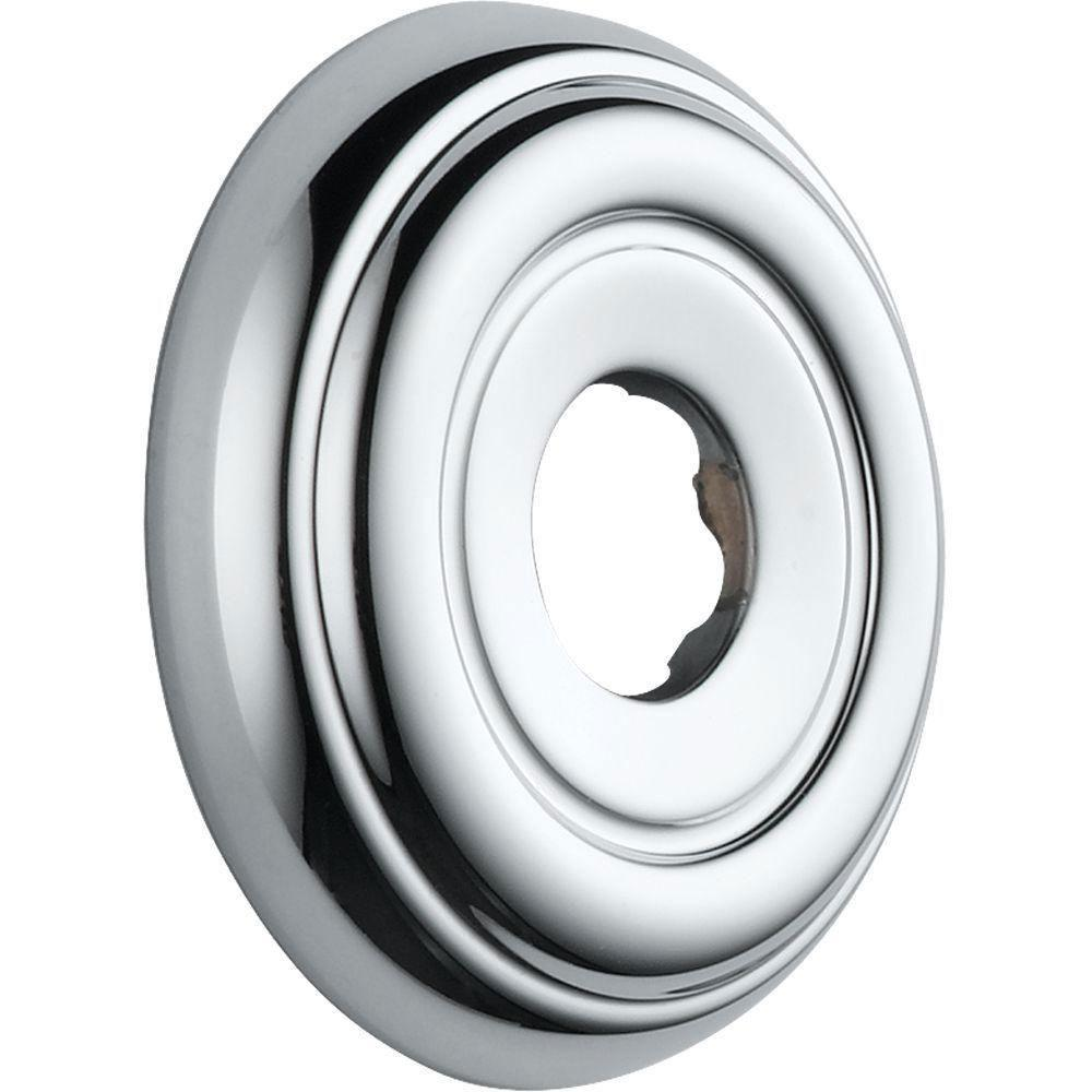 Delta Shower Arm Flange 2.8 inch Diameter in Chrome 785041