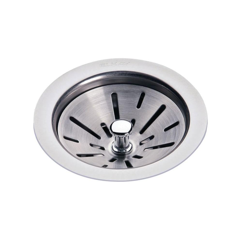 Elkay 3.5 inch Chrome Kitchen Sink Drain 135608