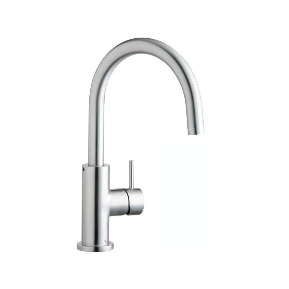 Elkay Allure Single-Handle Kitchen Faucet in Stainless Steel 467163