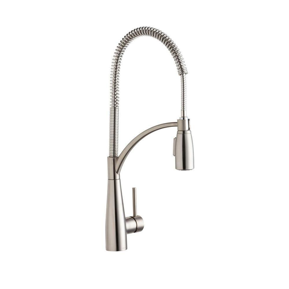 Elkay Avado Stainless Steel Pre Rinse Kitchen Faucet 541160