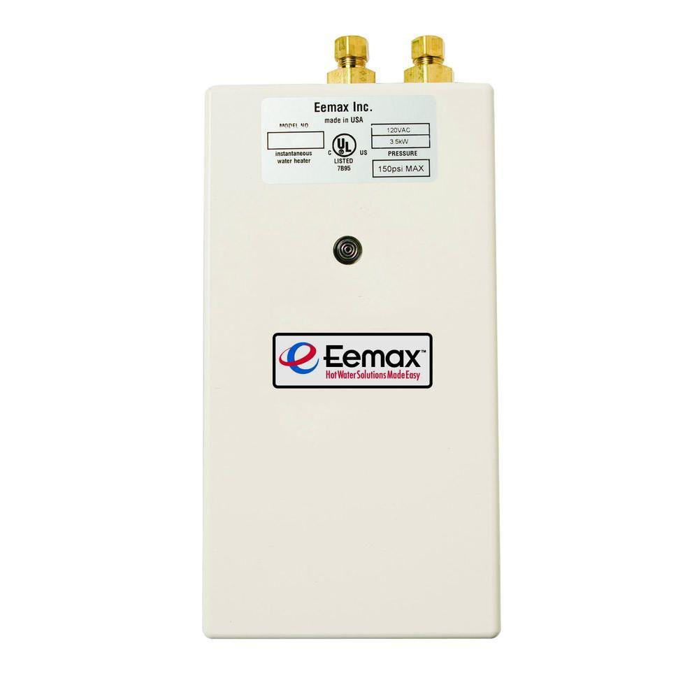Eemax Single Point 5.5 kW 240-Volt 0.5gpm-2.0gpm Electric Tankless Water Heater 513422