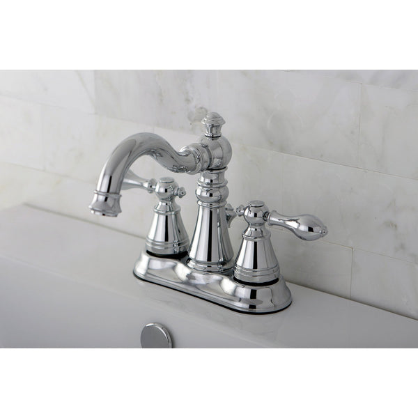 Kingston Chrome 2 Handle 4 Quot Centerset Bathroom Faucet With