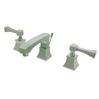 Kingston Brass Chrome 2 Handle Widespread Bathroom Faucet w Pop-up FS4461QL