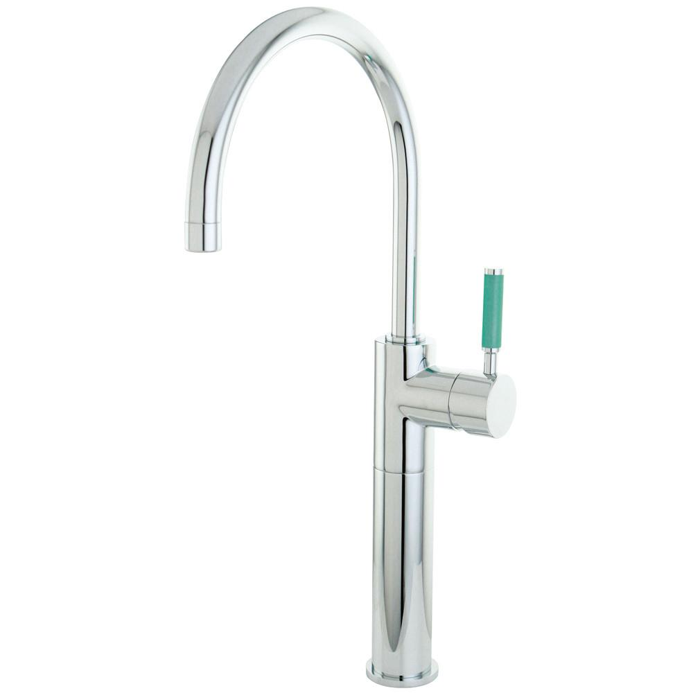 Kingston Brass Green Eden Chrome Single Handle Vessel Sink Faucet FS8031DGL