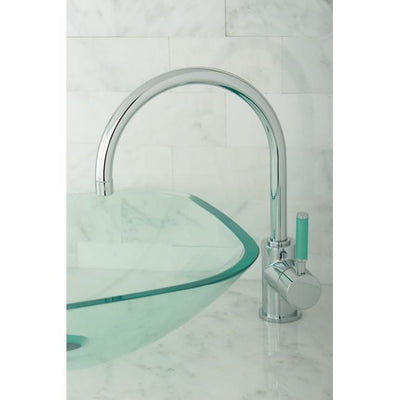 Kingston Brass Green Eden Chrome Single Handle Vessel Sink Faucet FS8231DGL