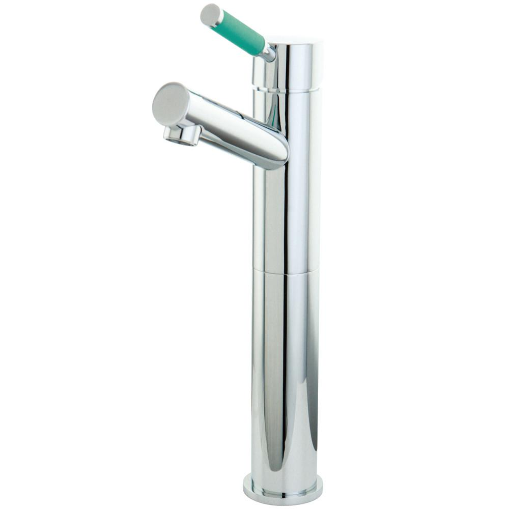 Kingston Brass Green Eden Chrome Single Handle Vessel Sink Faucet FS8411DGL