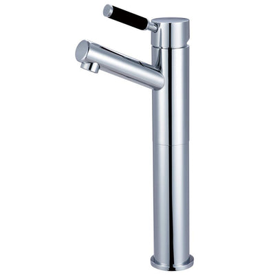 Kingston Brass Kaiser Chrome Single Handle Bathroom Vessel Sink Faucet FS8411DKL