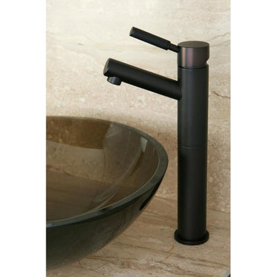 Kingston Kaiser Oil Rubbed Bronze 1 Handle Bathroom Vessel sink Faucet FS8415DKL