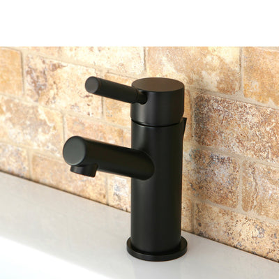 Kingston Brass Kaiser Oil Rubbed Bronze Single Handle Bathroom Faucet FS8425DKL
